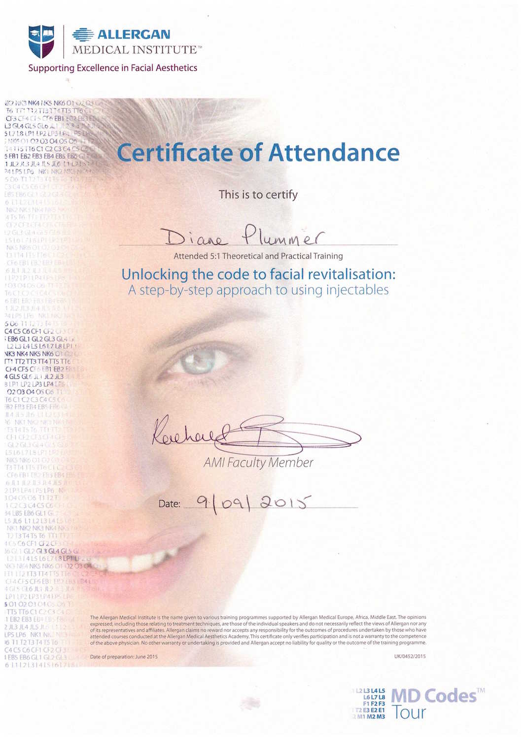 Allergan Medical Institute - unlocking the code to facial revitalisation