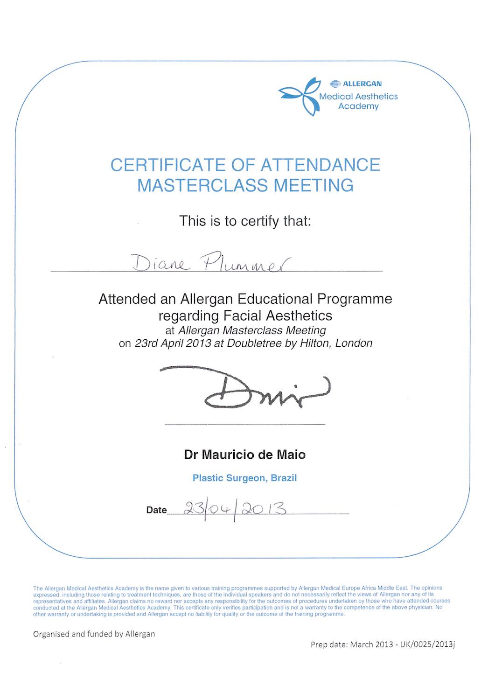 Allergan Medical Institute - Facial Aesthetics Masterclass